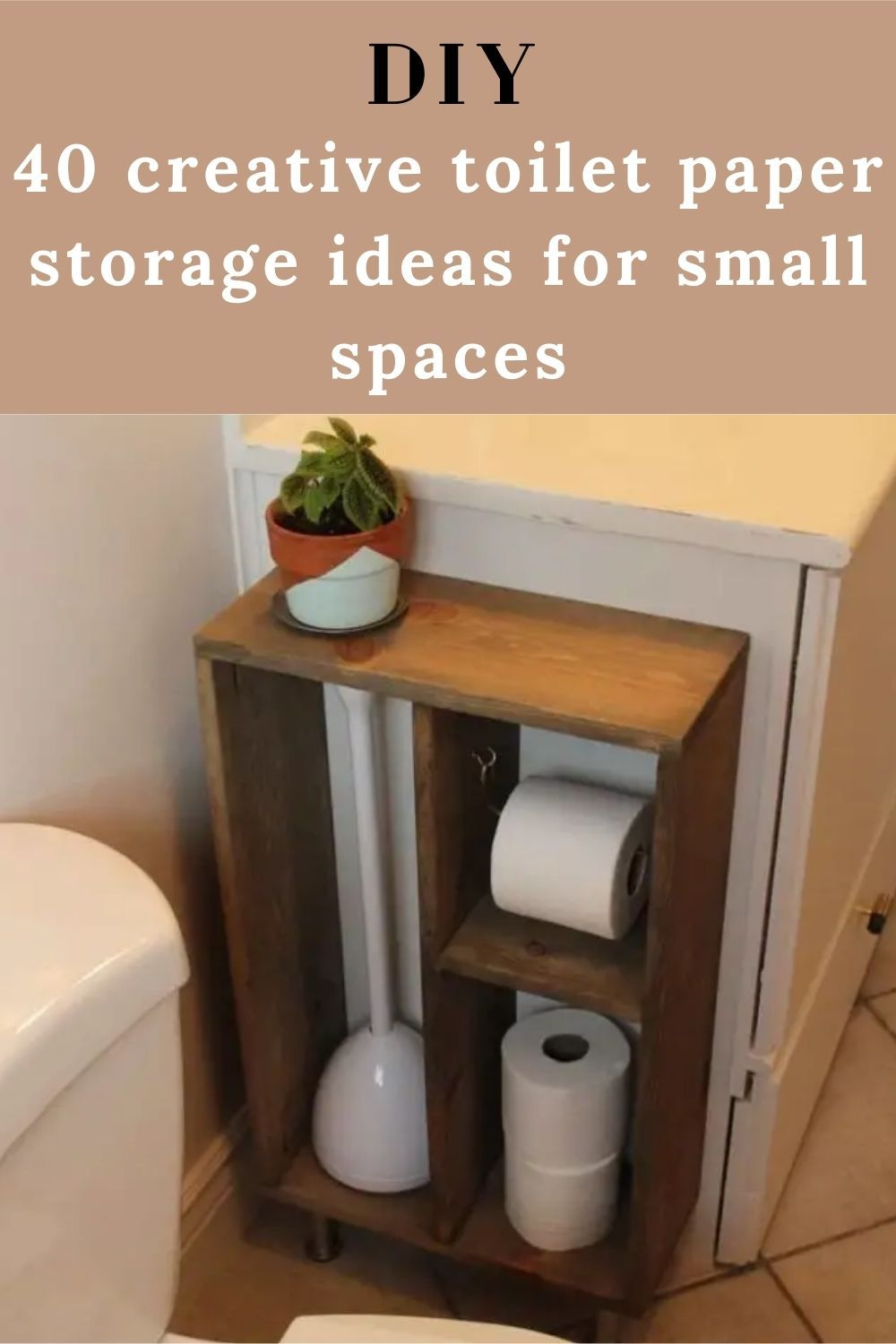 Photo of 40 creative toilet paper storage ideas for small spaces