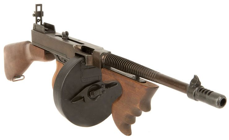 Military Guns For Sale >> Tommy Gun For Sale Gun Replica The 1921 Was The First Of The