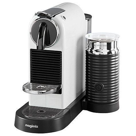 Nespresso Citiz Milk Coffee Machine By Magimix Black