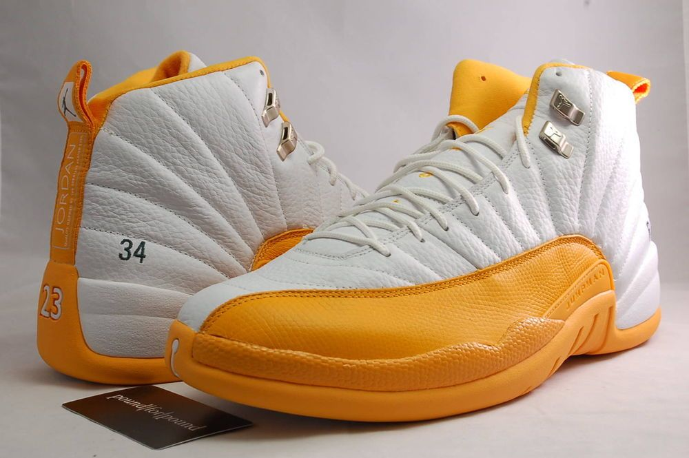 761ae3dc43f3 Nike Air Jordan 12 XII Ray Allen 34 PE Sample Size 14 Game Issued Super  Sonics