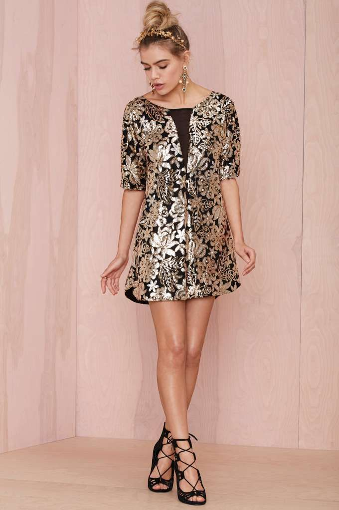 Lovers and Friends Saturday Night Sequin Dress - NYE  ceefe7290