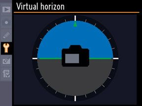 Virtual Horizon from Nikon Please have a look at this tool for Nikon users. Google Virtual Horizon and then your camera brand