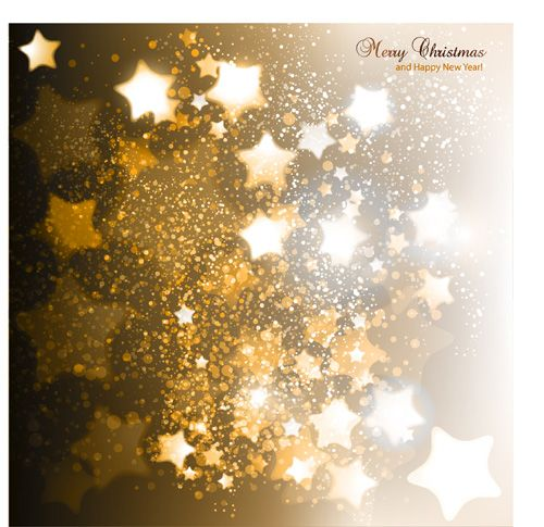 Vector Set Of Sparkling Christmas Backgrounds Art 10