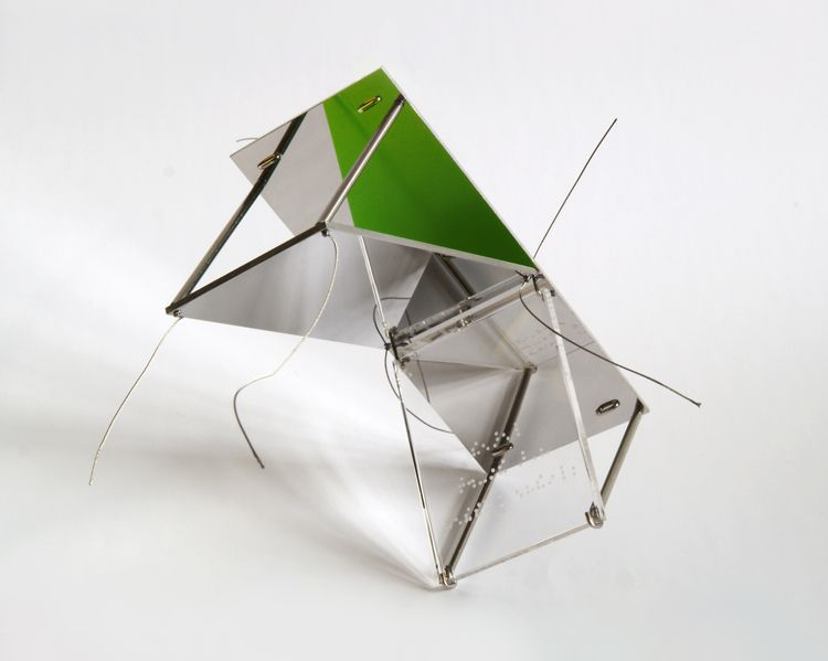 Peter Skubic Brooch Untitled Stainless steel silver By the