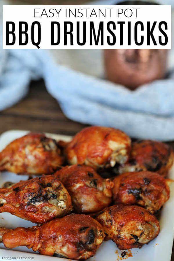 Instant Pot Bbq Chicken Drumsticks Recipe Drumstick Recipes Chicken Drumstick Recipes
