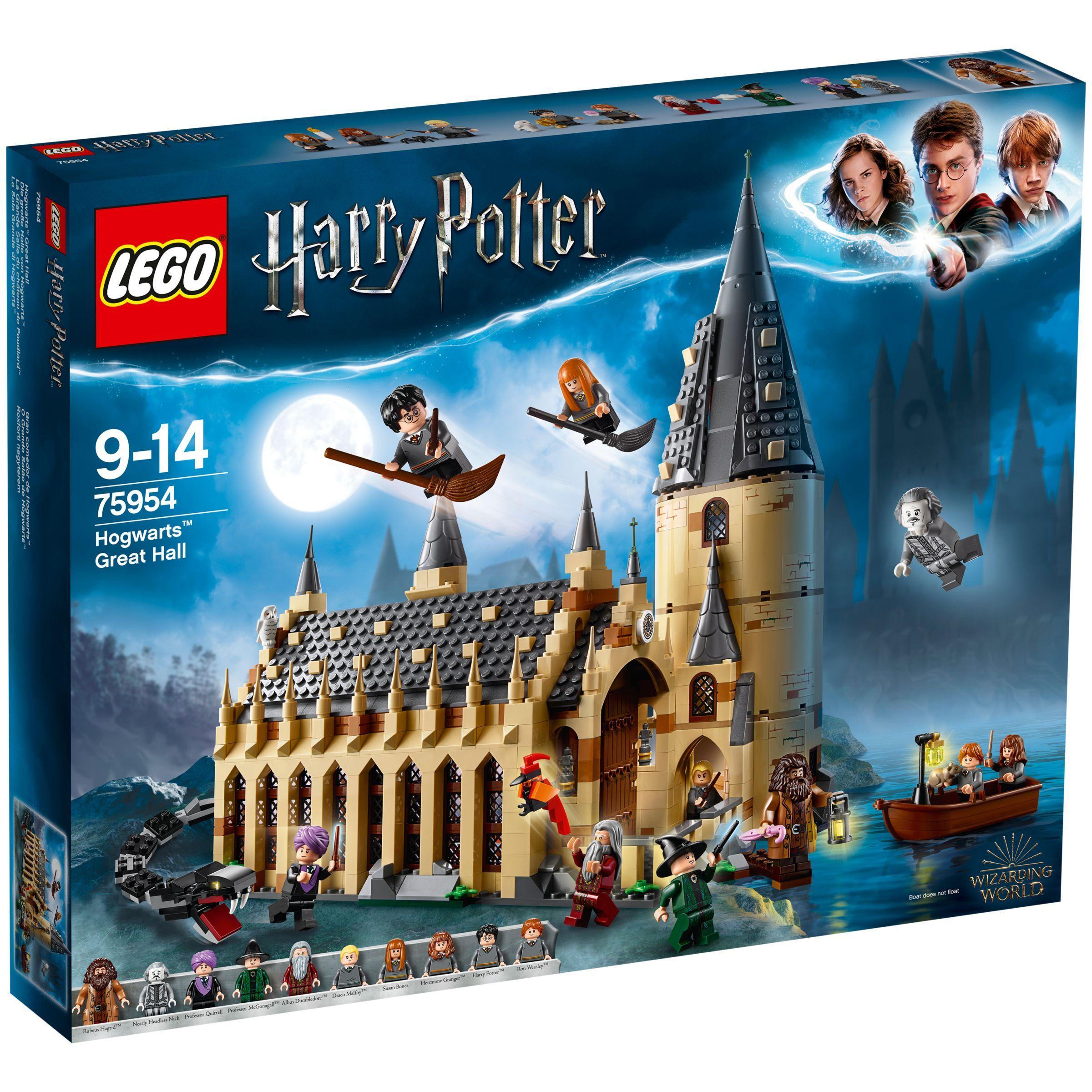 Lego Harry Potter Hogwarts Great Hall 75954 Harry Potter Lego Sets Lego Hogwarts Hogwarts Great Hall
