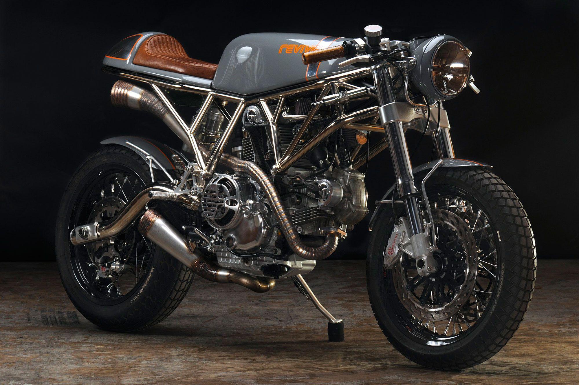 Revival Cycles Custom Build: 2006 Ducati Sport Classic - Pyro