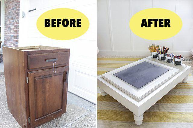 Recuperare un vecchio mobile ecco 15 idee fai da te per for Regalo mobili vecchi