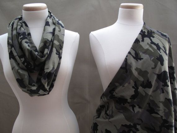 CAMOUFLAGE Just Between You & Me TM Infinity Nursing by AbbieGraceDesigns. so much FUN to wear and to use!! $23.50