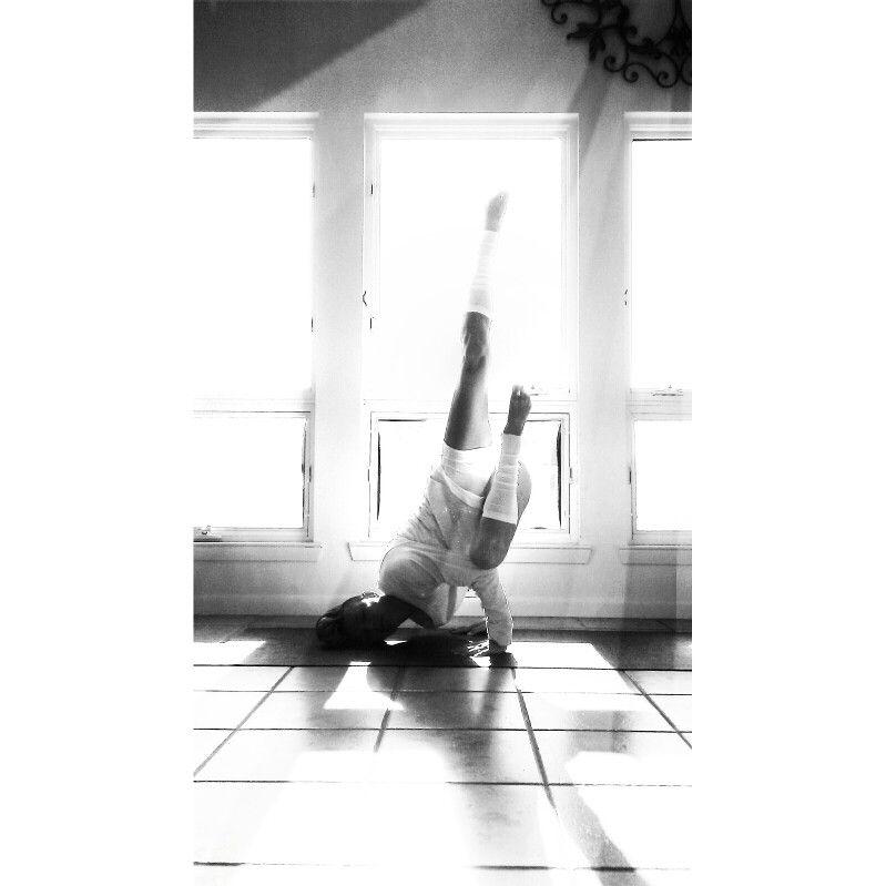 Fallen Angel Yoga Asana