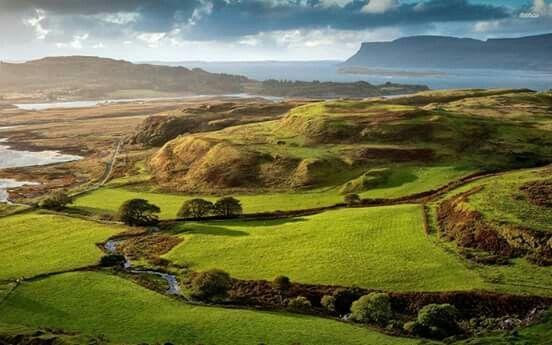 Tobermory, Isla de Mull, Escocia de La V.L.