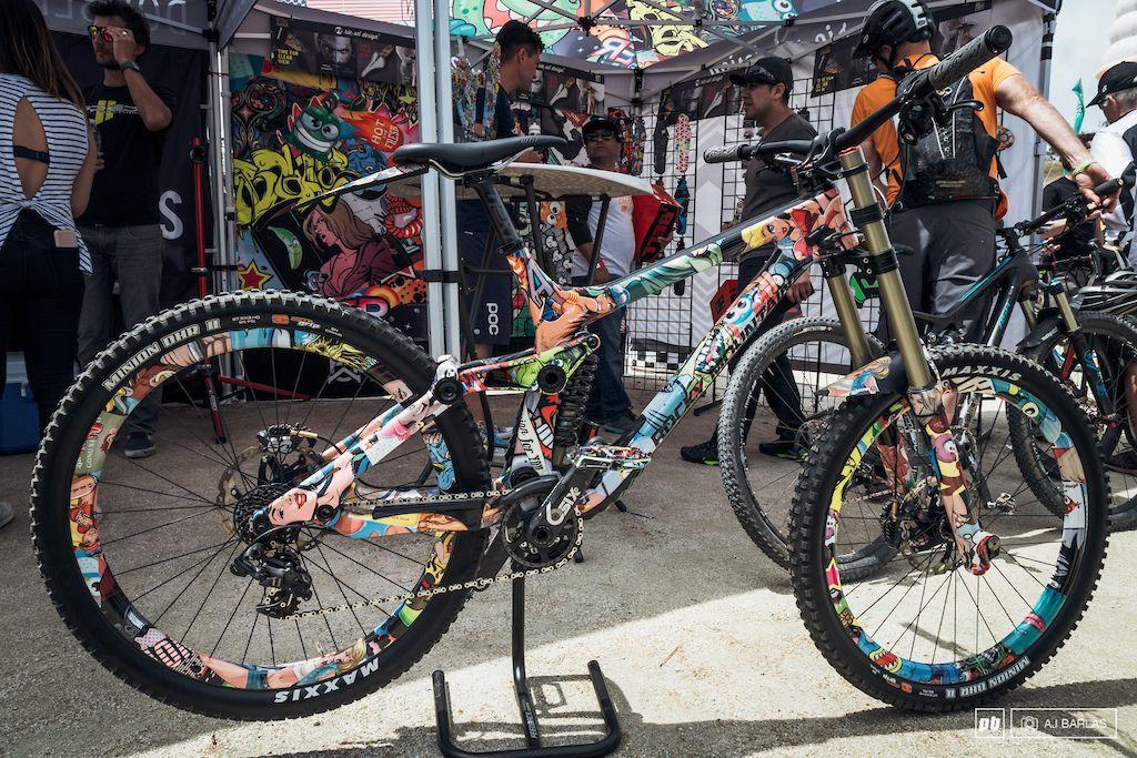 Shiny Custom Painted Bikes Sea Otter 2017 Paint bike