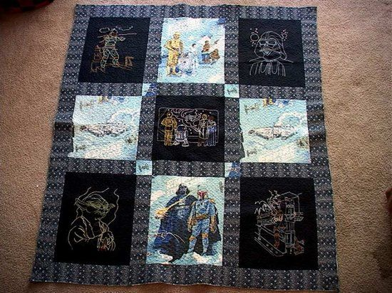 12 Impressive Sci-Fi Quilts | Star, Crafty and Sewing projects : quilting fiction - Adamdwight.com