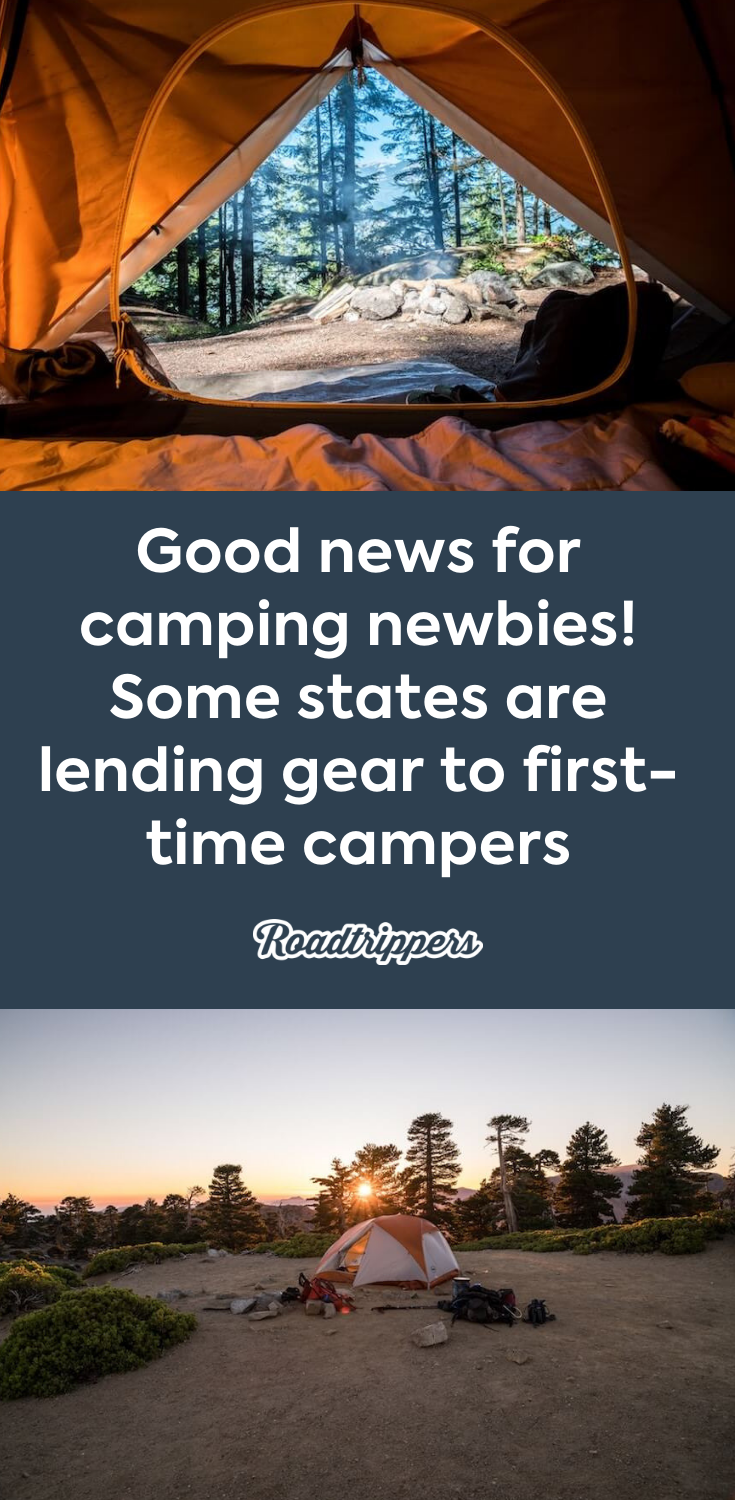Good news for camping newbies! Some states are lending gear to first ... c2ee063cb147e