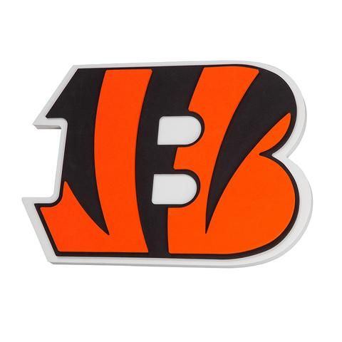 0447adaf445 Cincinnati Bengals Sign 3D Foam Logo | Cincinnati Bengals Sports Fan ...