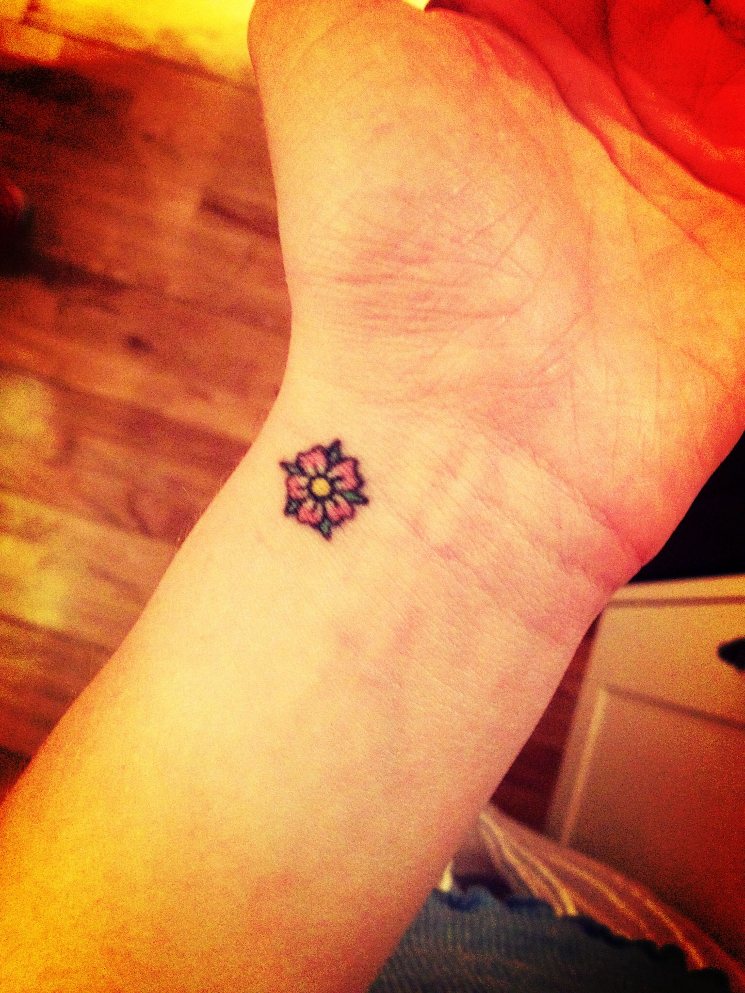Ideas about flower ankle tattoos on pinterest little lotus flower - Tattoo Ideas Flower