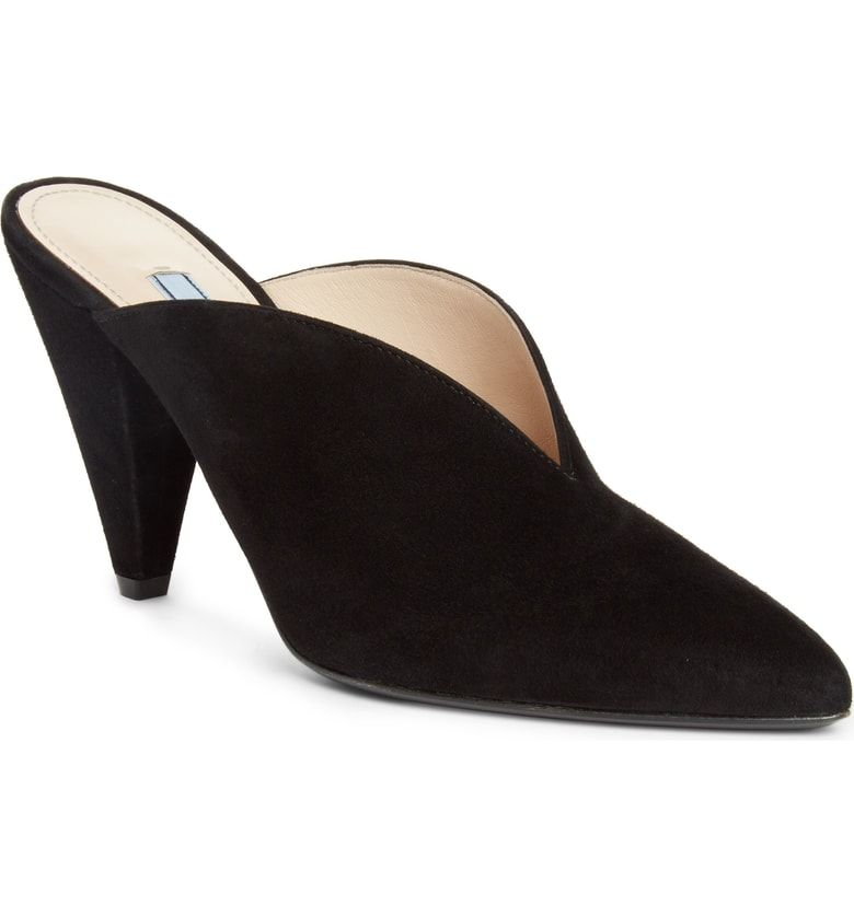 cff0f377efa9 Free shipping and returns on Prada Pointy Toe Mule (Women) (Nordstrom  Exclusive)