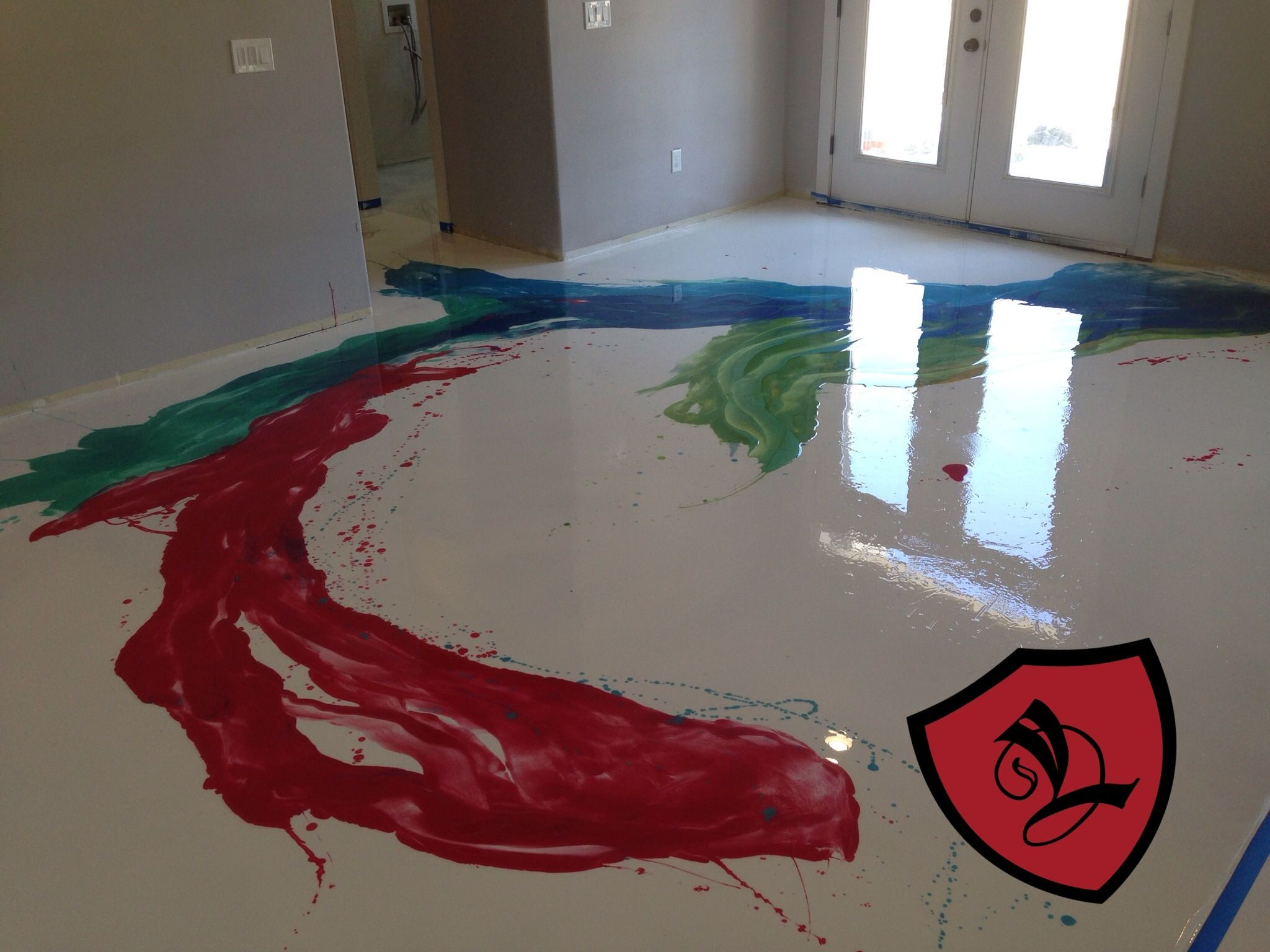 Diy Metallic Epoxy Coatings For Floors With Our Super