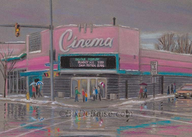 Cinema theater theater on goodman street rochester