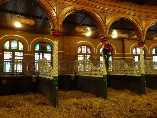 Clydesdales Stables Grant S Farm Stables Brewery Tours St Louis