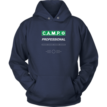 Fallout 76 C.A.M.P. Professional Hoodie. Clothing for