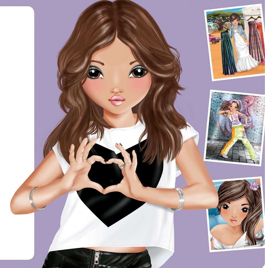 topmodel ausmalbilder talita  tiffanylovesbooks