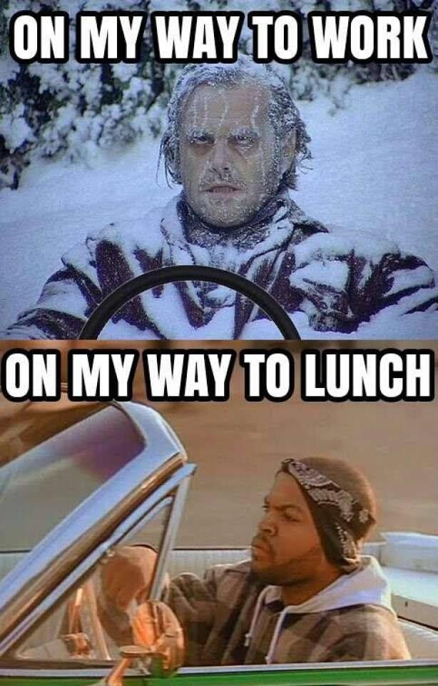 Work Lunch Meme : lunch, Humor,, Jokes,, Memes, Weather, Memes,, Funny, Relatable