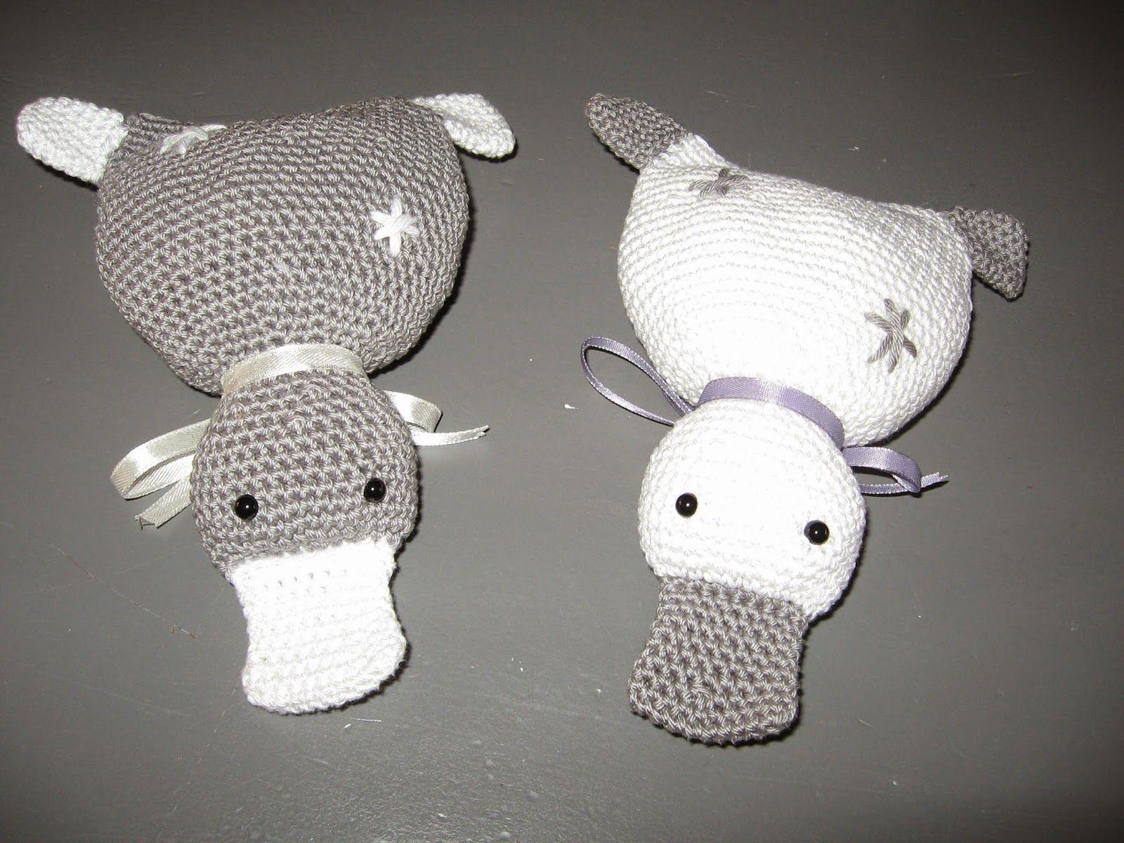Eefies Knutselarij Gehaakt Eendje Crochet Amigurumi Animals