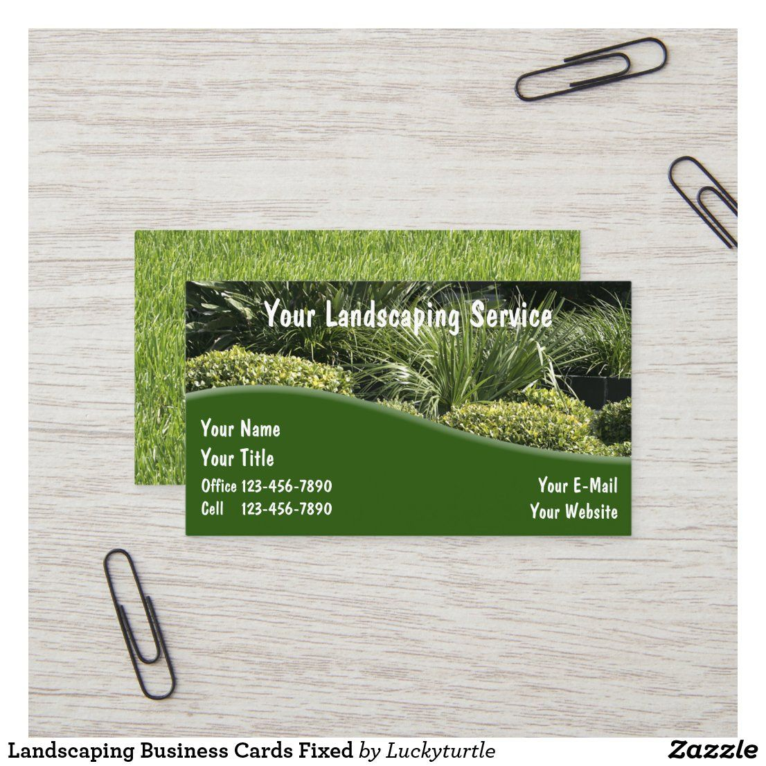 Landscaping Business Cards Fixed Zazzle Com Landscaping Business Cards Landscaping Business Lawn Care Business Cards