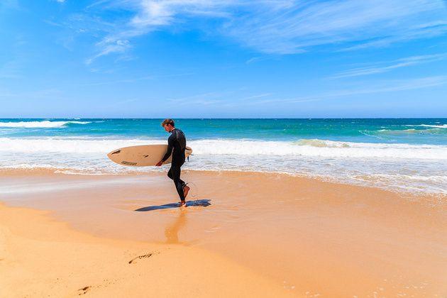 Las Mejores Playas Para Hacer Surf En El Algarve Portugal Costa Lisboa