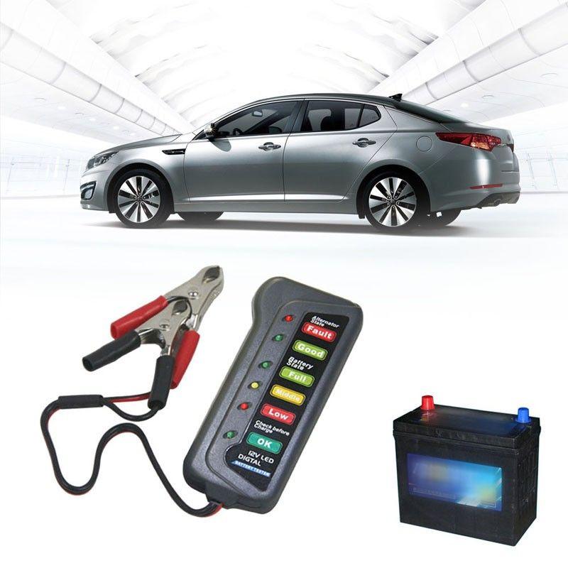 12V Car Battery Tester Analyzer Digital Car Battery Tester
