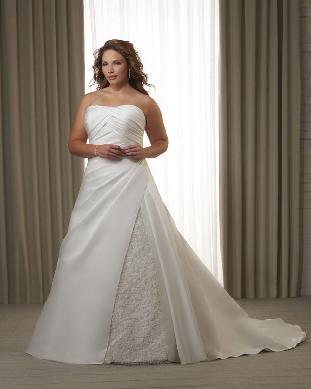 Plus Size Bridal Gown Style 1221 Bonny