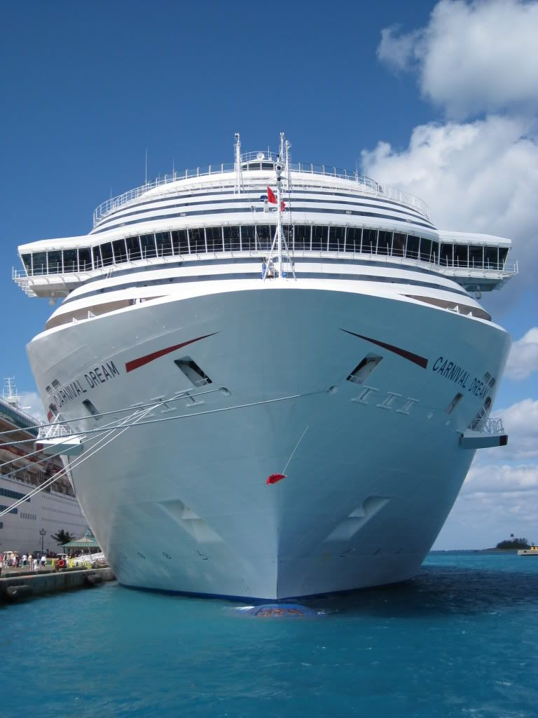 All Aboard The Carnival Dream In Nassau. #Cruise