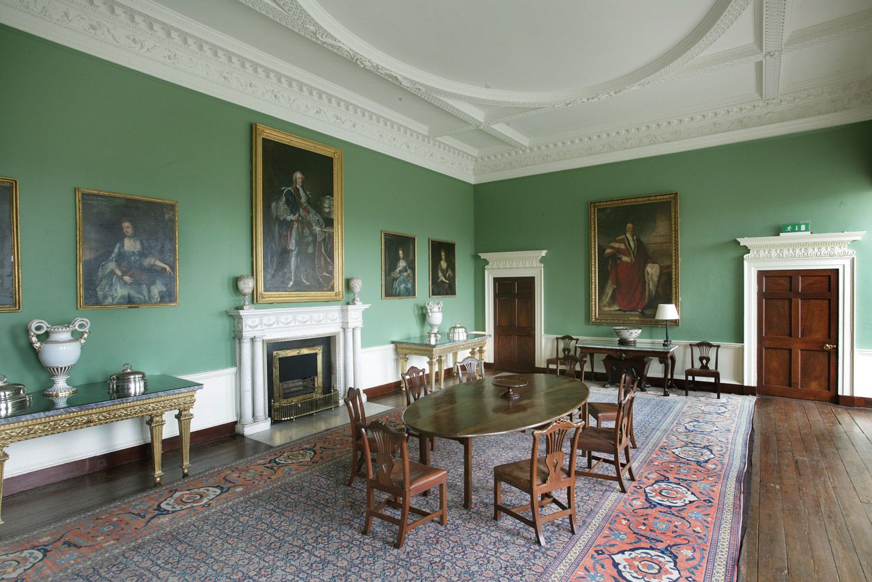 The dining room castletown house manor house yes your lordship the dining room castletown house dzzzfo