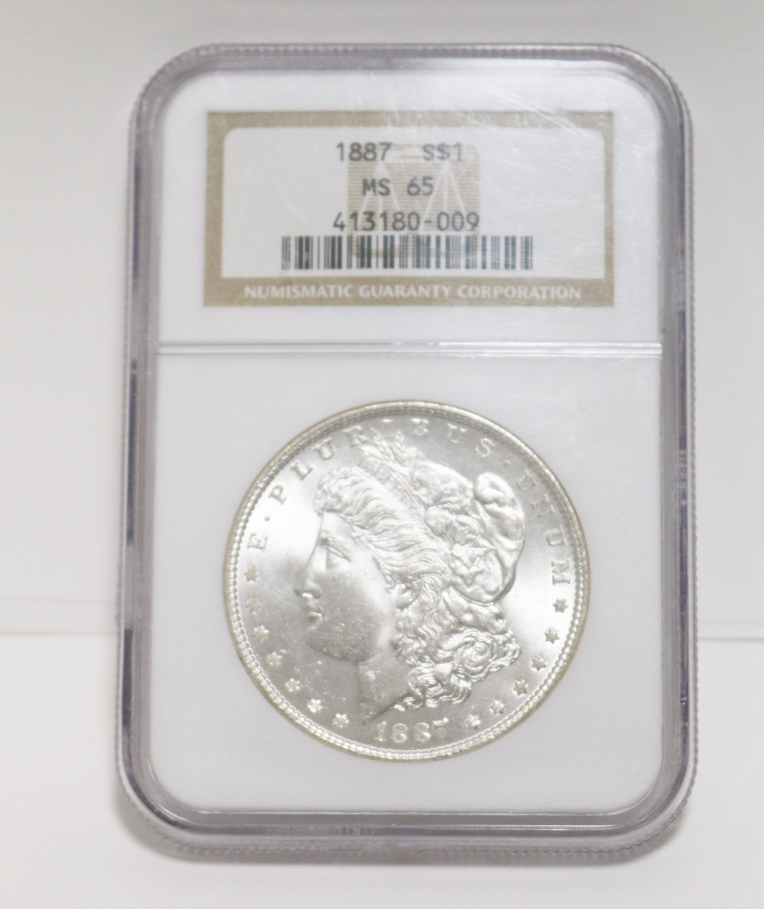 1887 Us Mint Morgan Silver 1 One Dollar Coin Uncirculated Ngc Etsy In 2020 Coins For Sale Silver Bullion Gold Bullion