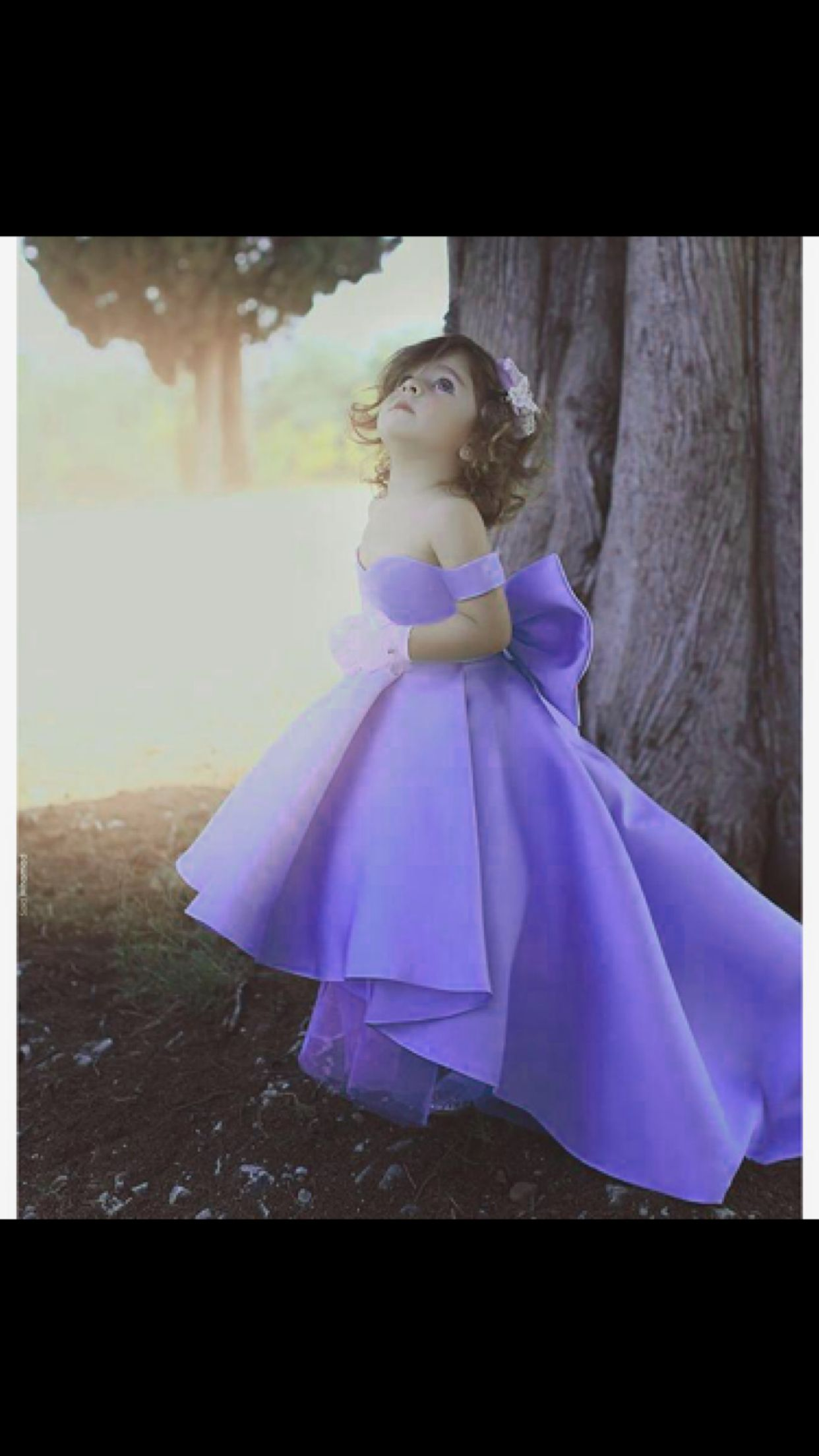 cc8e12db6 Lovely Light Purple Flower Girls Dresses 2018 Ball Gown with Big Bow Cap  Sleeves Long Train