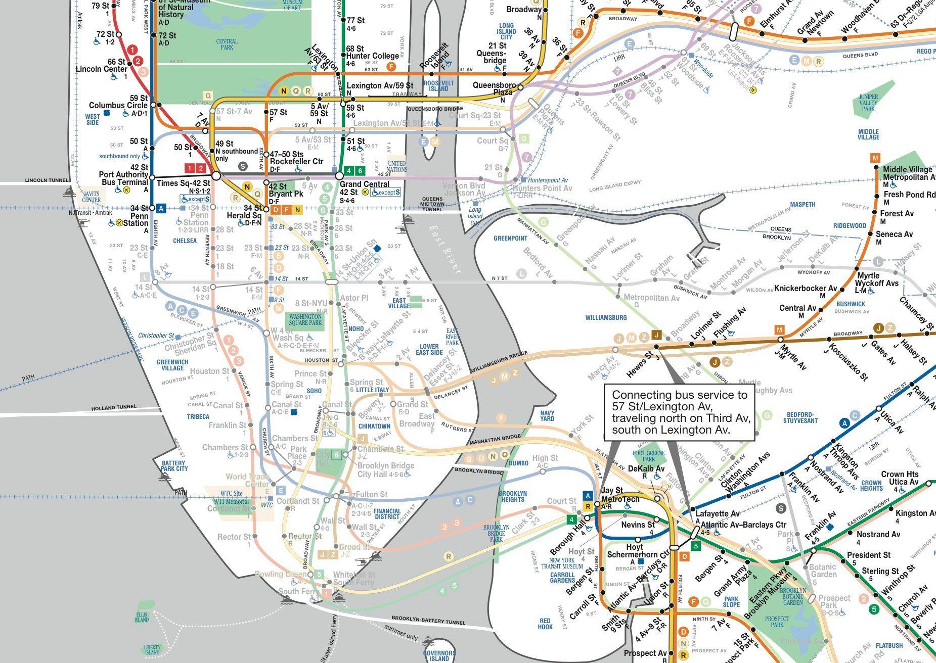 Nyc Subway Map Sandy.Nyc Subway Map Showing Lines Shut Down By Superstorm Sandy Design