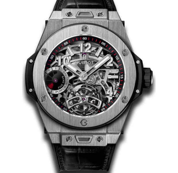 يمتلك ساعة من ماركة Hublot مصنوعة من الياقوت يبلغ سعرها 70 ألف دولار Akhbarak Hublot Watches For Men Gold Watch Men