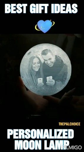 Personalized Photo Moon Lamp Boyfriend Husband Valentines Day|Birthday|Anniversary|Marriage Gifts