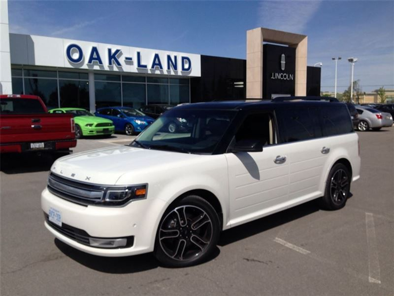 2014 Ford Flex Limited W Ecoboost Dvd Head Rest And Way More In