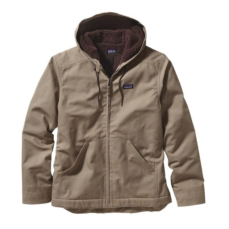 Patagonia Men's Lined Canvas Hoody - Ash Tan (ASHT)