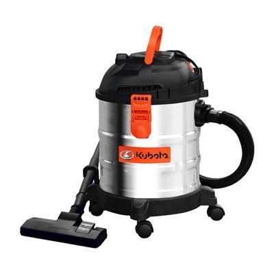 Kubota 5-gal Stainless Steel Wet/Dry Vacuum Cleaner