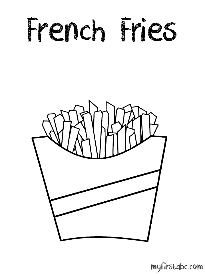Image Result For French Fry Worksheet Coloring Pages Christian Coloring Book Christian Coloring