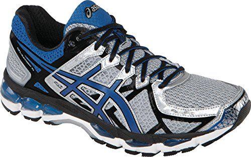 ASICS Men's Gel Kayano 21 Running Shoe,LightningRoyalBlack