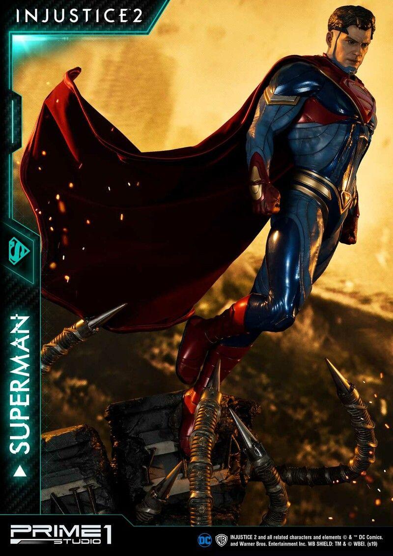 Artstation Injustice 2 Superman Prime 1 Jonathan Reilly Injustice 2 Superman Superman Superman Man Of Steel