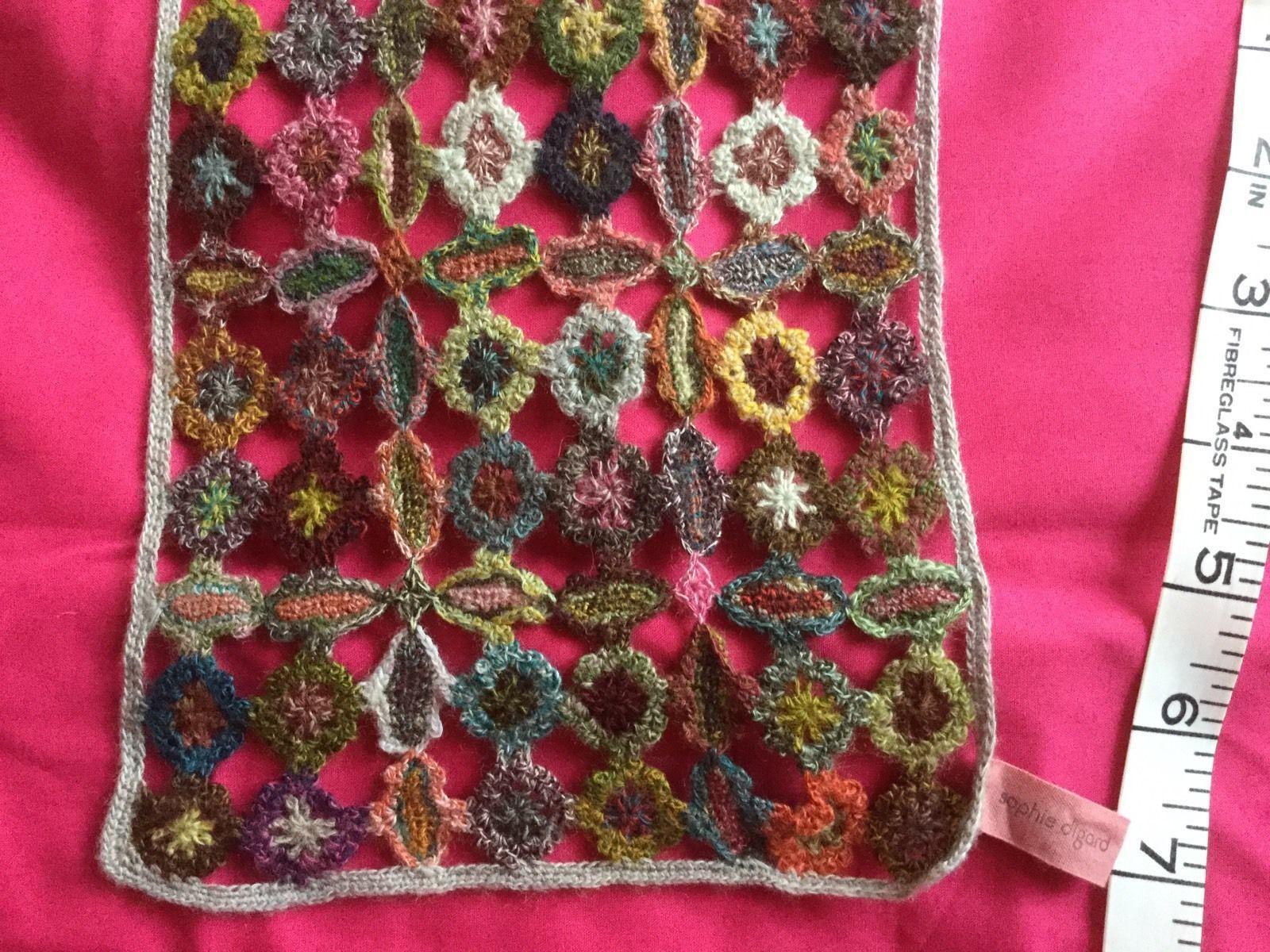 Sophie Digard Hand Crocheted Scarf Unused | eBay | Sophie Digard ...