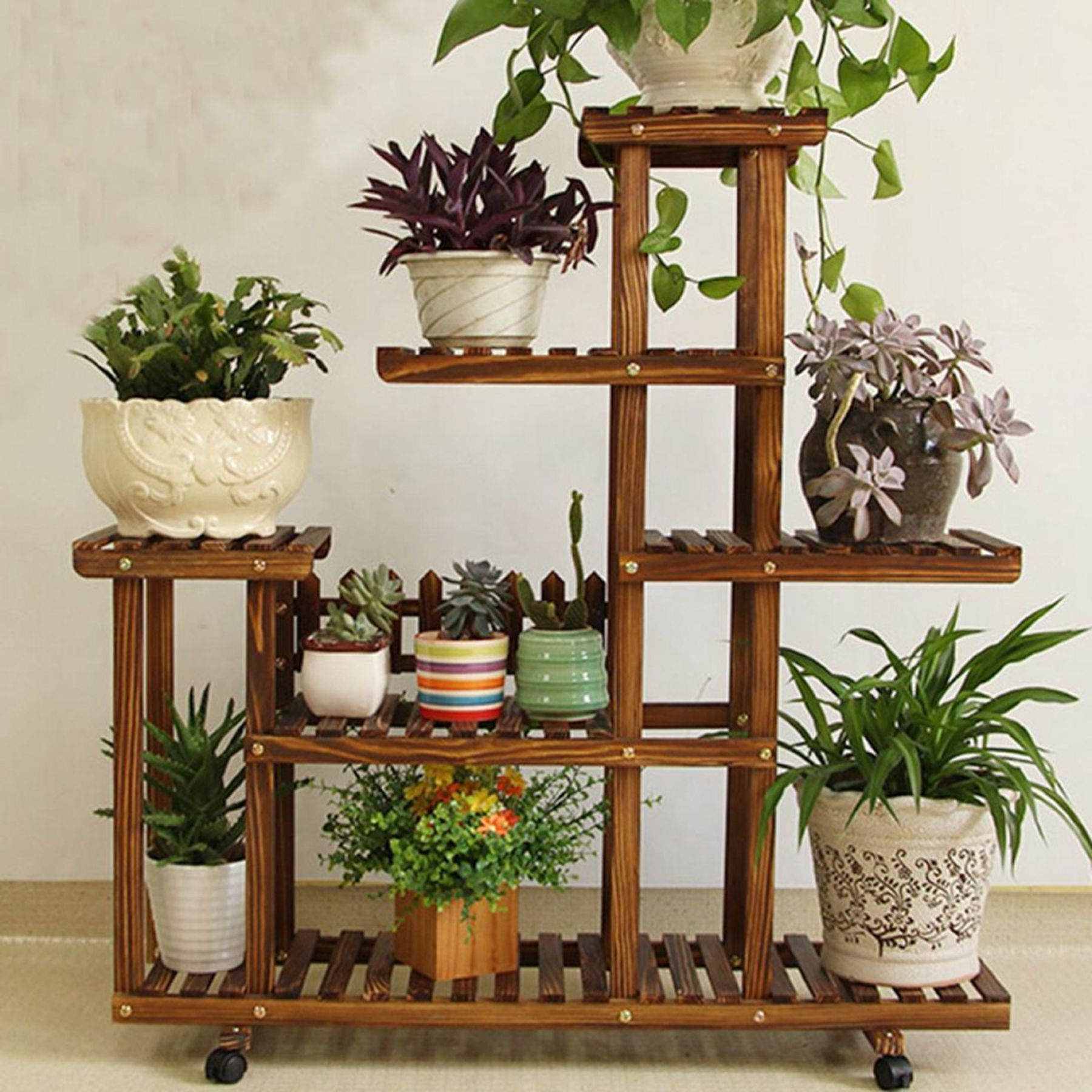 15 awesome flower rack design ideas to decorate your home