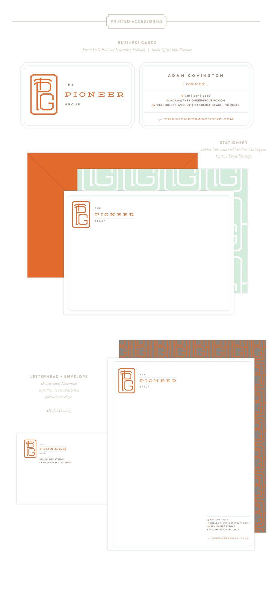 Brand design u consulting branding design printed materials and