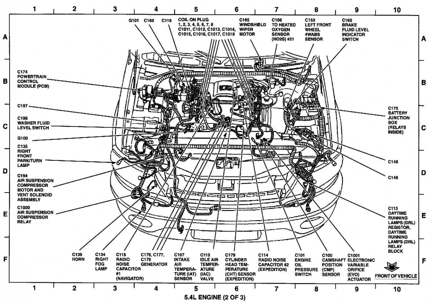Ford Focu Engine Part Diagram