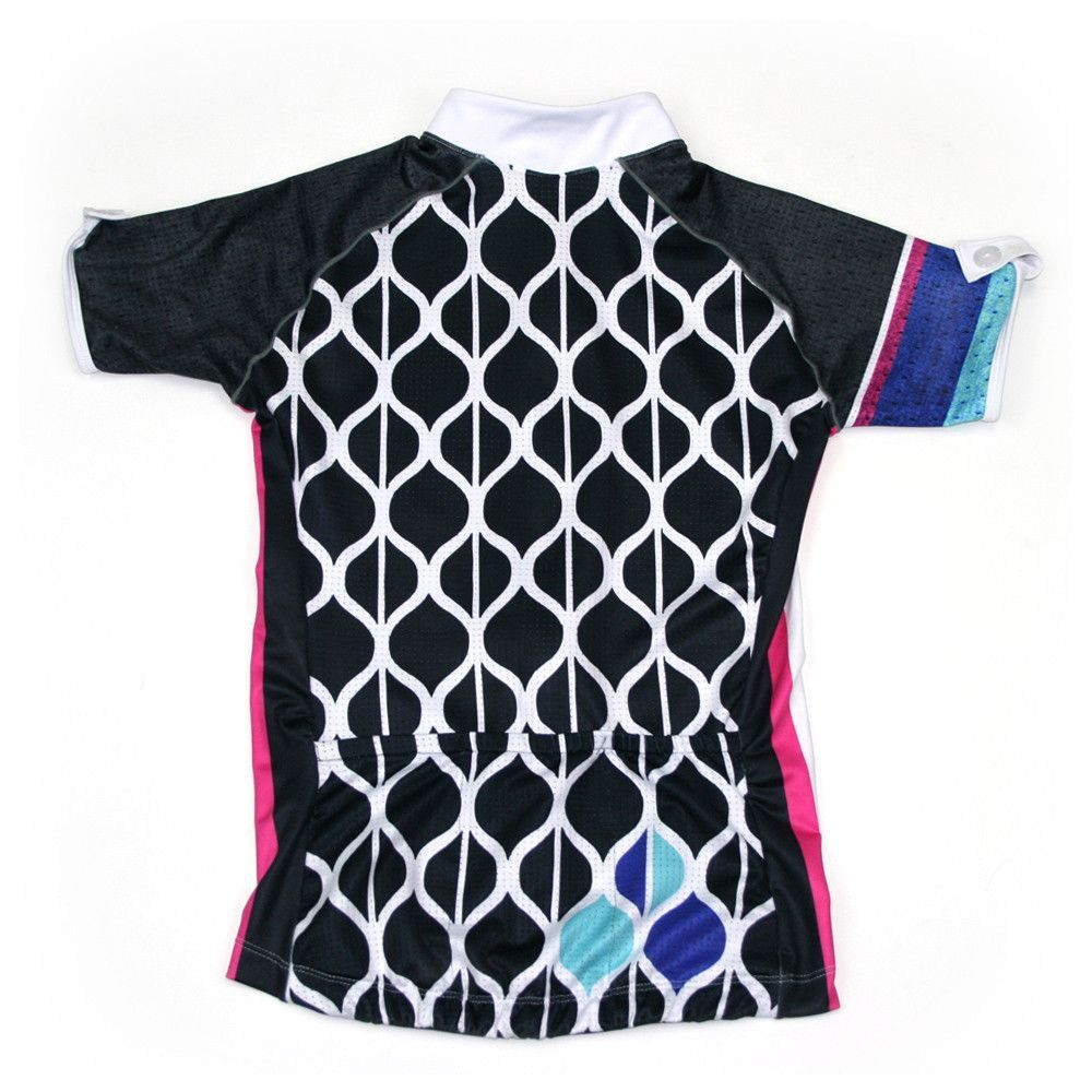 Details  Our newest SOAS Cycling Jersey in the Barcelona Collection. Fitted  and contoured to mimic the curves of a woman s body with other feminine  accents. 2c129ed58